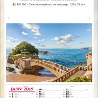 Calendrier BX2