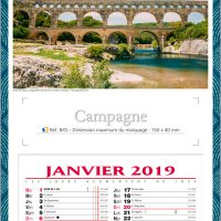 Calendrier BX5
