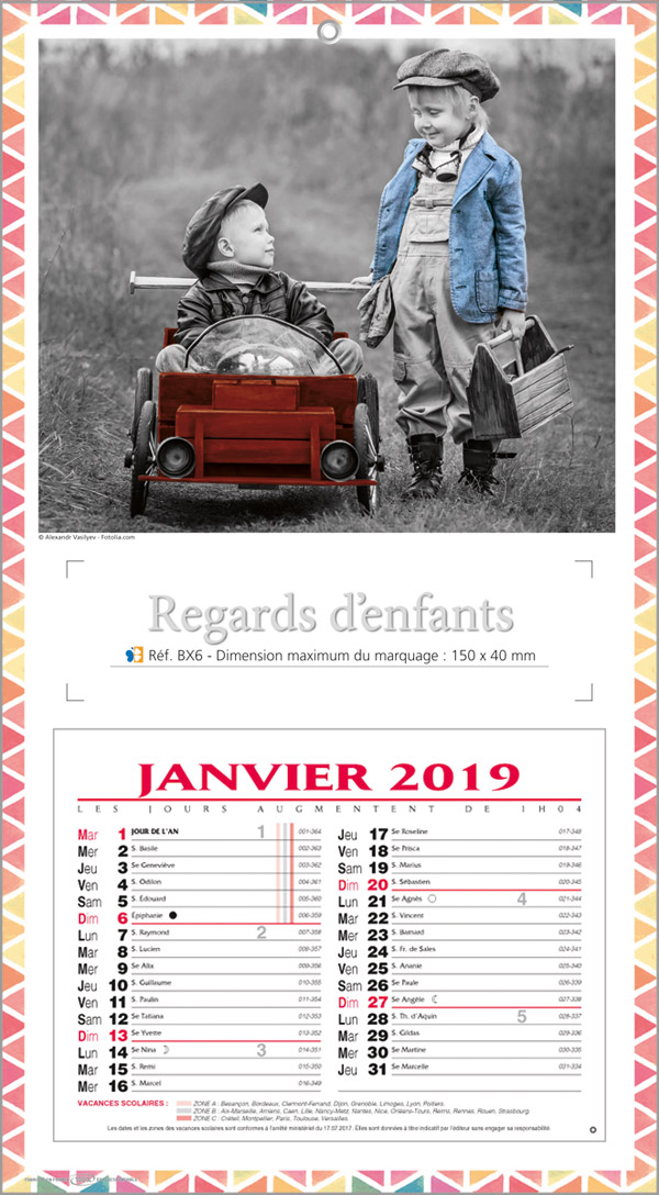 Calendrier BX6