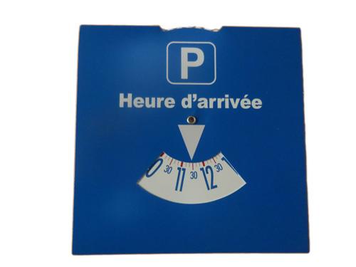 Disque de stationnement sefam
