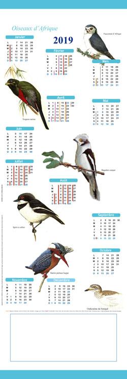 Calendrier-kakemono-oiseaux