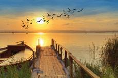 Calendrier-laminé-coucher-de-soleil