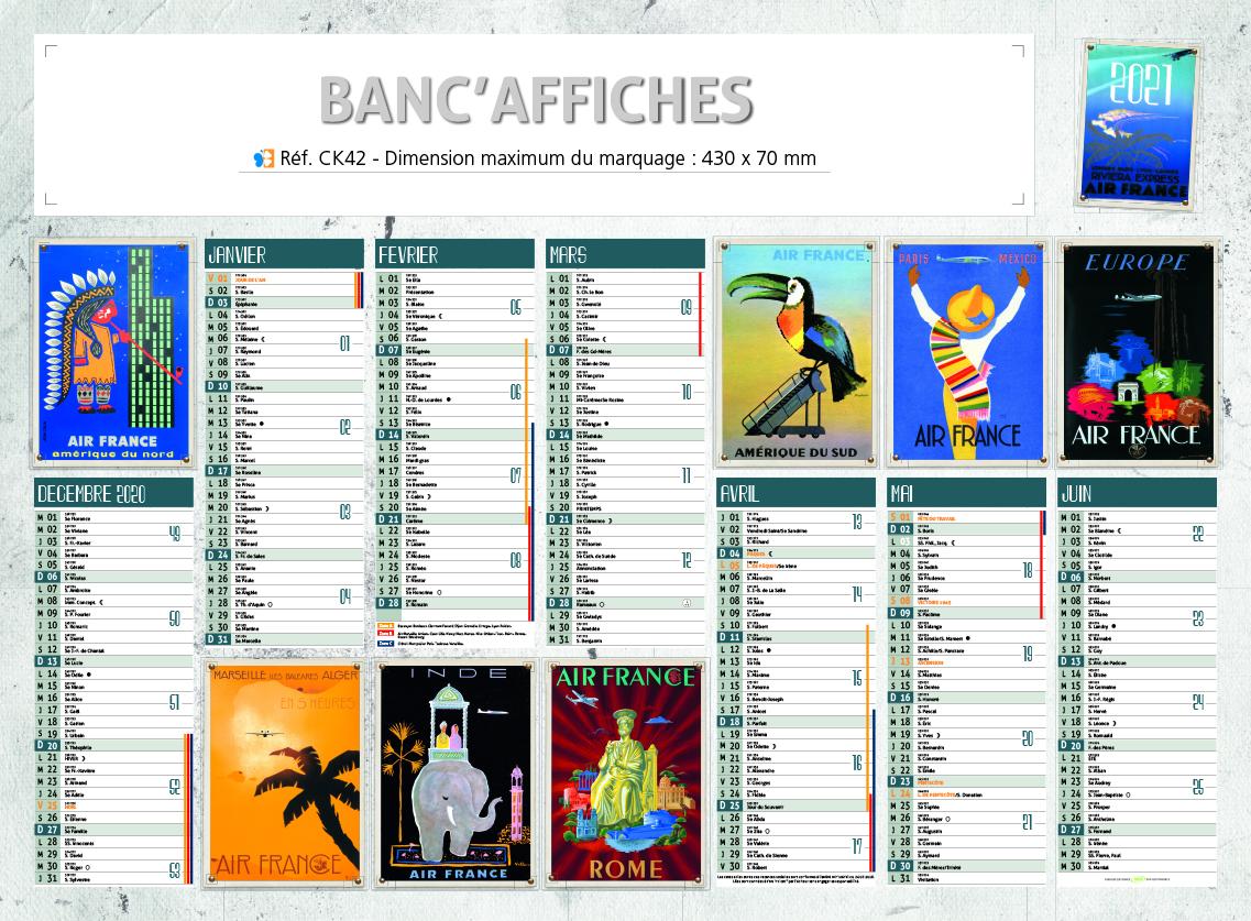 CK42 banc affiches-sefam